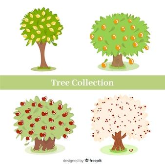 Coleção de árvores