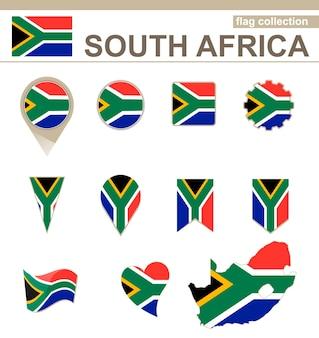Coleção de bandeiras da áfrica do sul, 12 versões