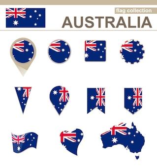 Coleção de bandeiras da austrália, 12 versões