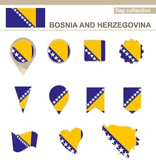 Coleção de bandeiras da bósnia e herzegovina, versões
