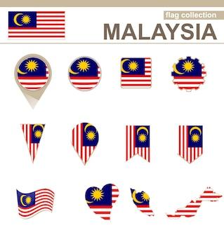 Coleção de bandeiras da malásia, 12 versões
