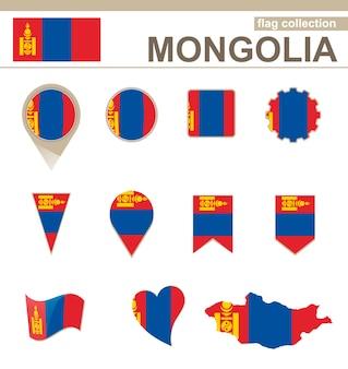 Coleção de bandeiras da mongólia, 12 versões