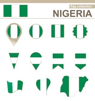 Coleção de bandeiras da nigéria, 12 versões