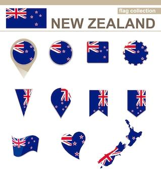 Coleção de bandeiras da nova zelândia, 12 versões