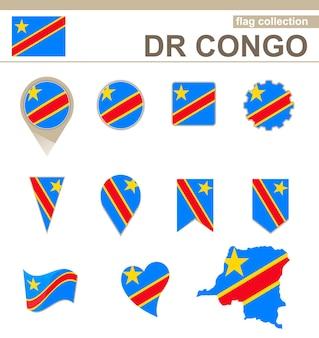 Coleção de bandeiras da república democrática do congo, 12 versões