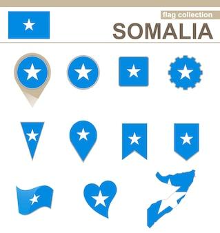 Coleção de bandeiras da somália, 12 versões