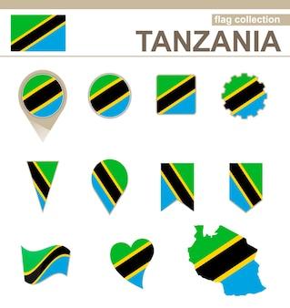 Coleção de bandeiras da tanzânia, 12 versões
