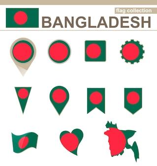 Coleção de bandeiras de bangladesh, 12 versões