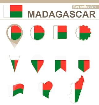 Coleção de bandeiras de madagascar, 12 versões