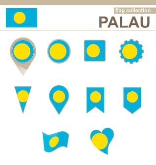 Coleção de bandeiras de palau, 12 versões