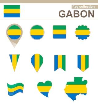 Coleção de bandeiras do gabão, 12 versões