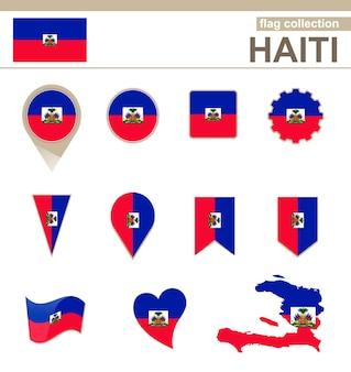 Coleção de bandeiras do haiti, 12 versões