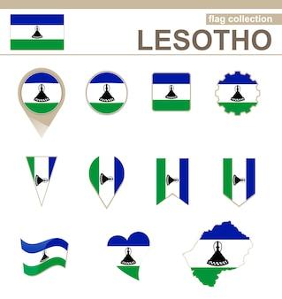Coleção de bandeiras do lesoto, 12 versões