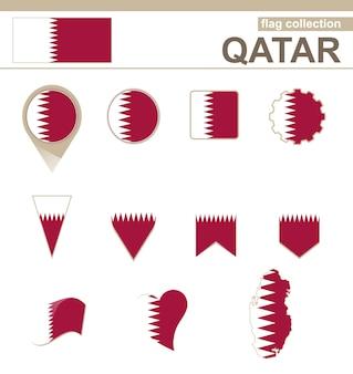 Coleção de bandeiras do qatar, 12 versões