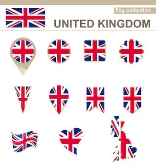 Coleção de bandeiras do reino unido, 12 versões