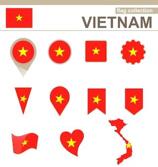 Coleção de bandeiras do vietnã, 12 versões