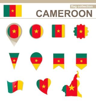 Coleção de bandeiras dos camarões, 12 versões