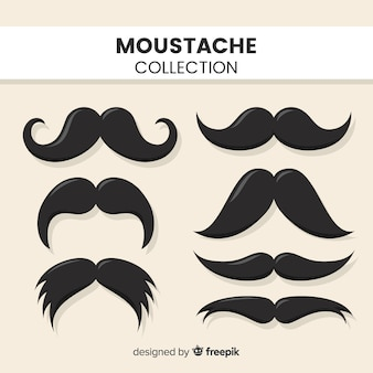 Coleção de bigode
