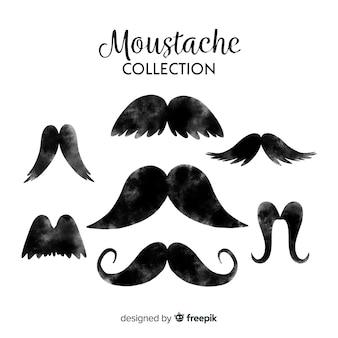 Coleção de bigodes movember