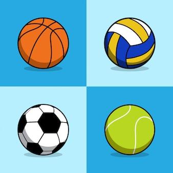Coleção de bola esportiva