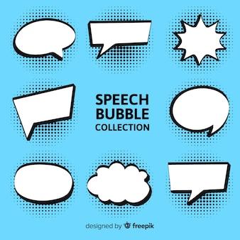 Coleção de bolha do discurso