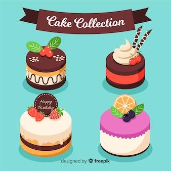 Coleção de bolo