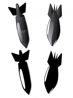 Coleção de bomba de ar dos desenhos animados