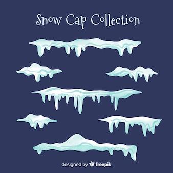 Coleção de boné de neve