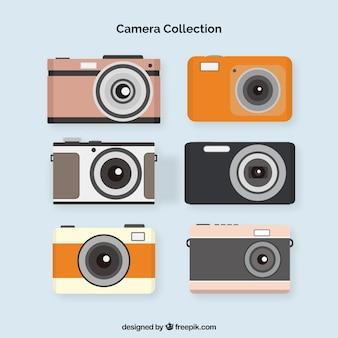 Coleção de câmaras domésticas