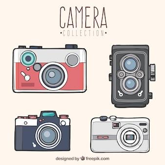 Coleção de câmera vintage