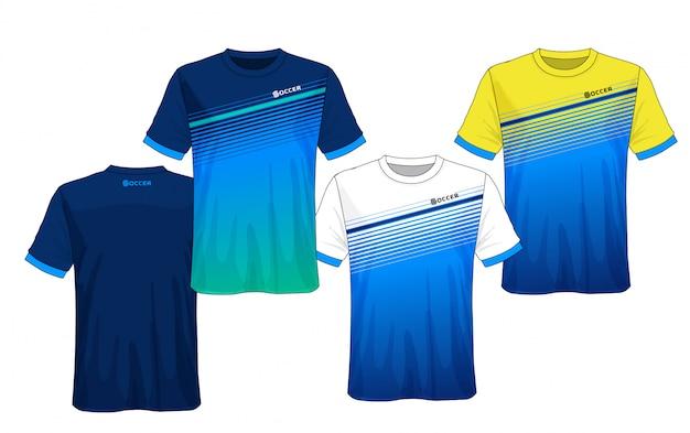 Coleção de camisa de futebol