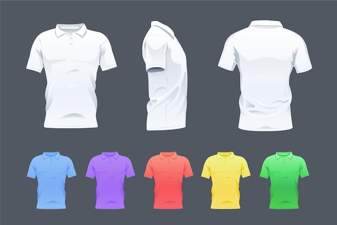 Coleção de camisa polo