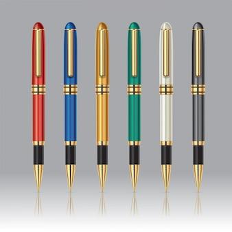 Coleção de caneta de luxo