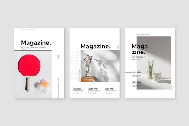 Coleção de capa de revista