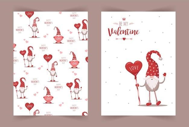 Coleção de cartões de feliz dia dos namorados