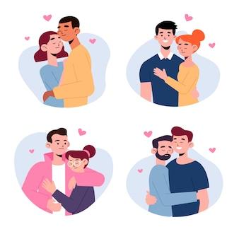 Coleção de casal dia dos namorados