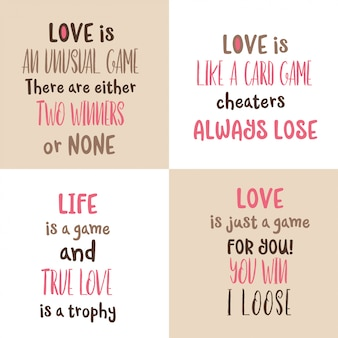 Coleção de citações de amor romântico