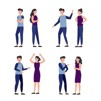 Coleção de conflitos de casal