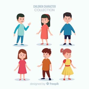 Coleção de crianças do dia dos meninos