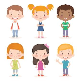 Coleção de crianças