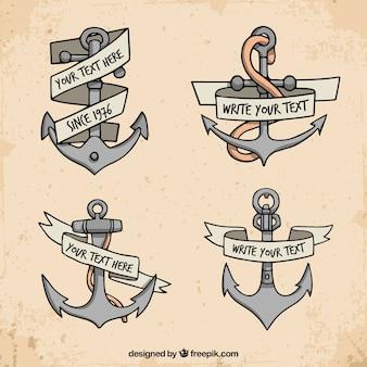 Coleção de design anchor