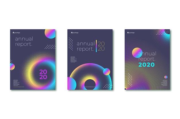 Coleção de design de folheto de negócios