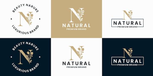 Coleção de design de logotipo de luxo para branding e identidade corporativa
