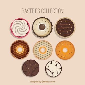 Coleção de design doces