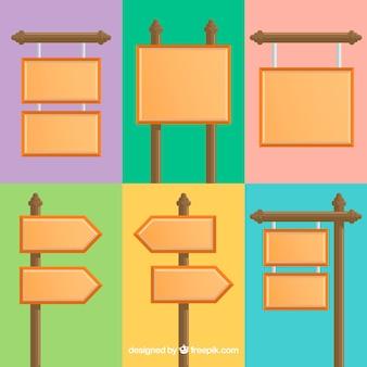 Coleção de design plano