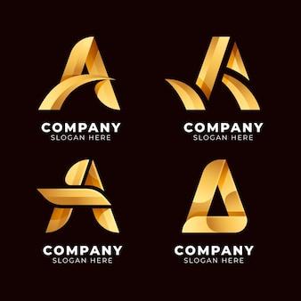 Coleção de diferentes logotipos