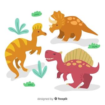 Coleção de dinossauros