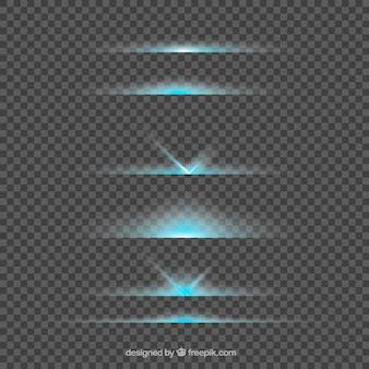 Coleção de divisor de reflexo de lente