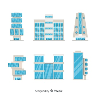 Coleção de edifício de escritórios