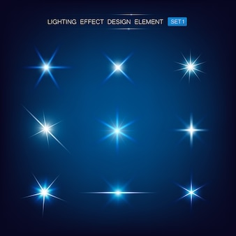Coleção de efeito de iluminação